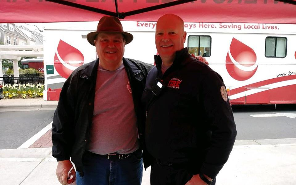 huntersville fire department blood drive